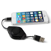 The Tangle Free iPhone 5 Charger.