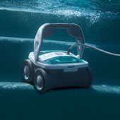 The Robotic Pool Cleaner.