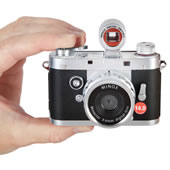 The Genuine Minox Compact Camera.