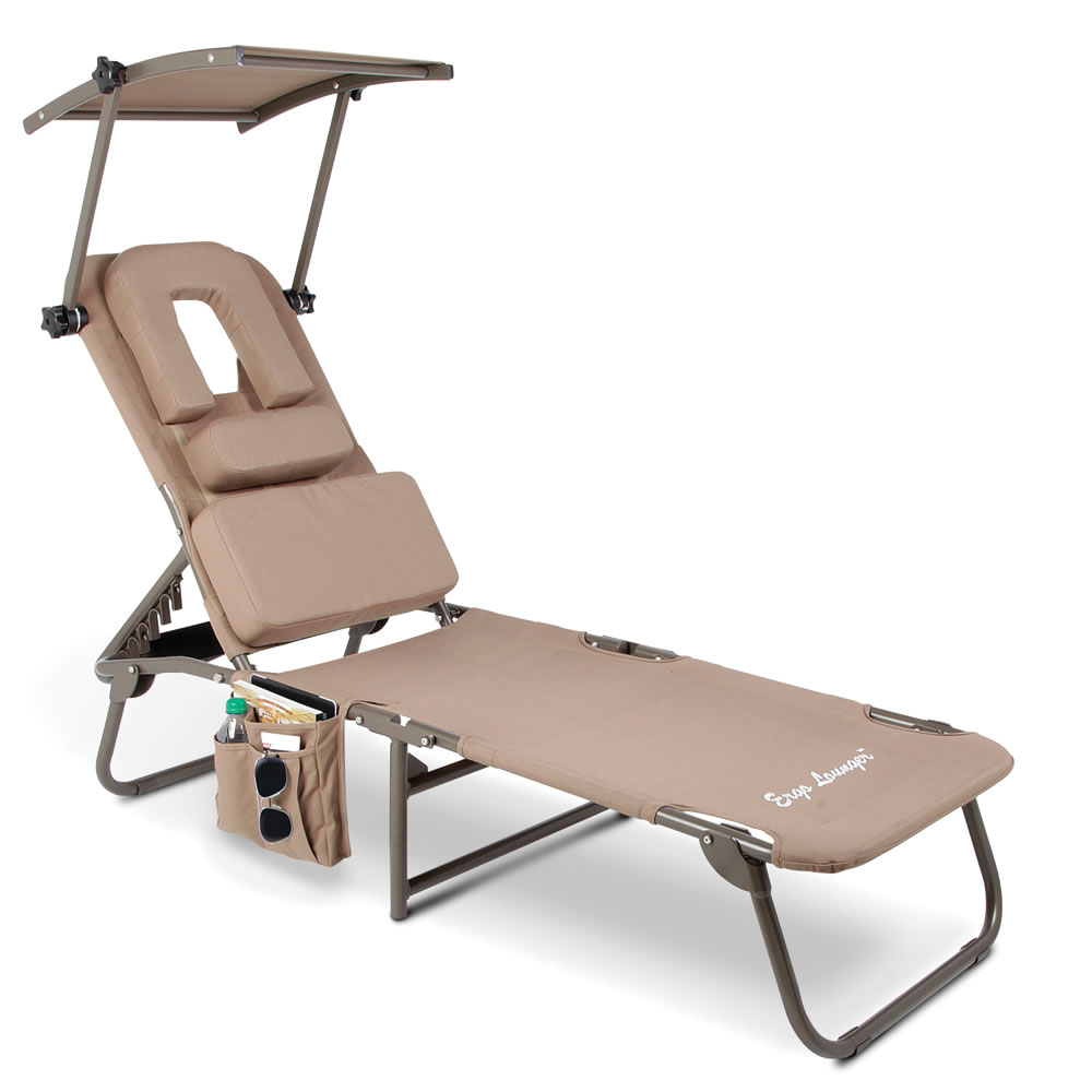 The Removable Shade Ergonomic Beach Lounger 2