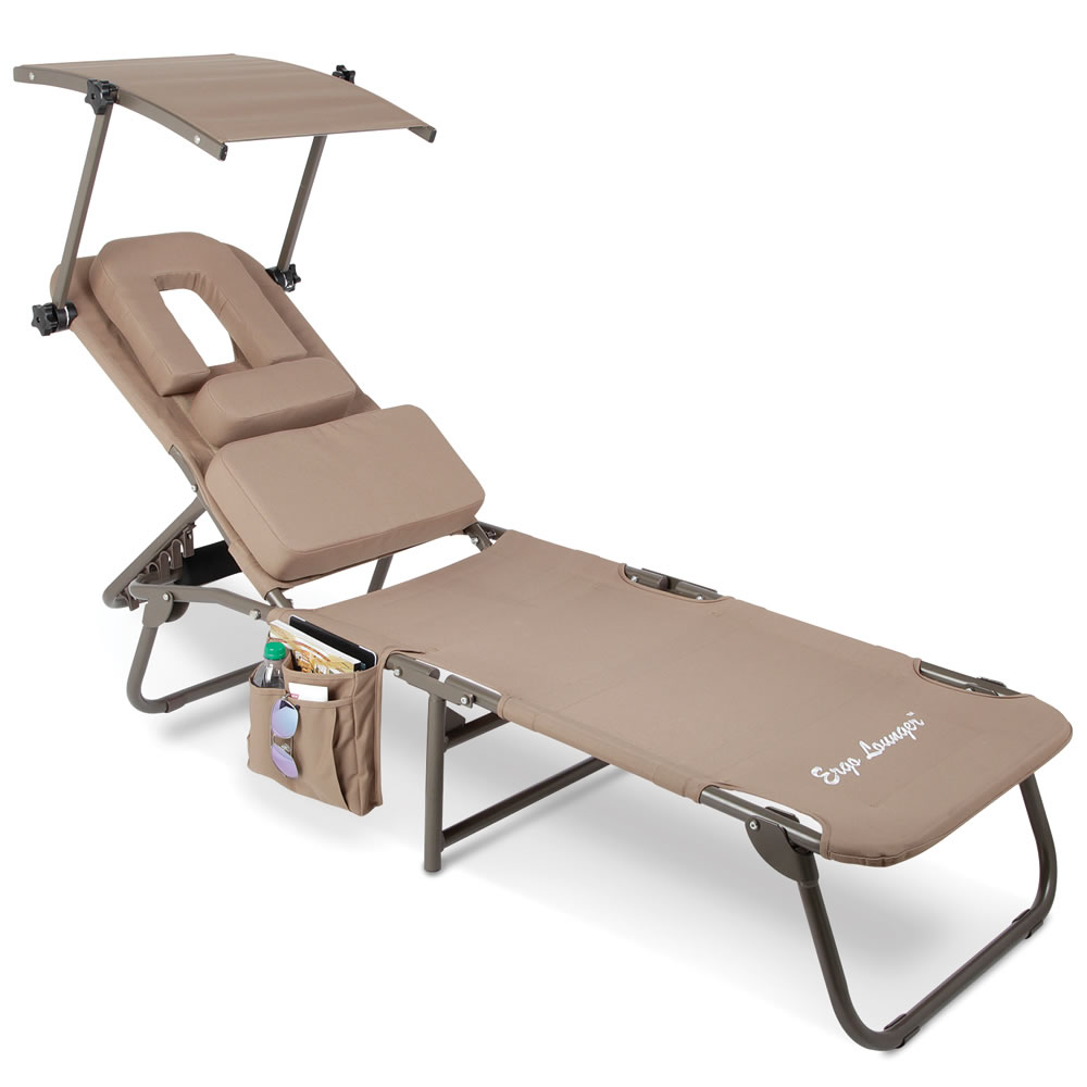 The Removable Shade Ergonomic Beach Lounger 3