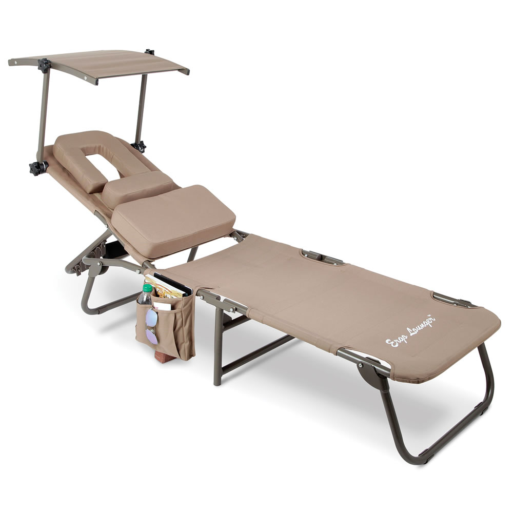 The Removable Shade Ergonomic Beach Lounger 4
