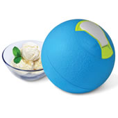 The Kickball Ice Cream Maker.