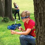 The Long Range Laser Blaster Set.