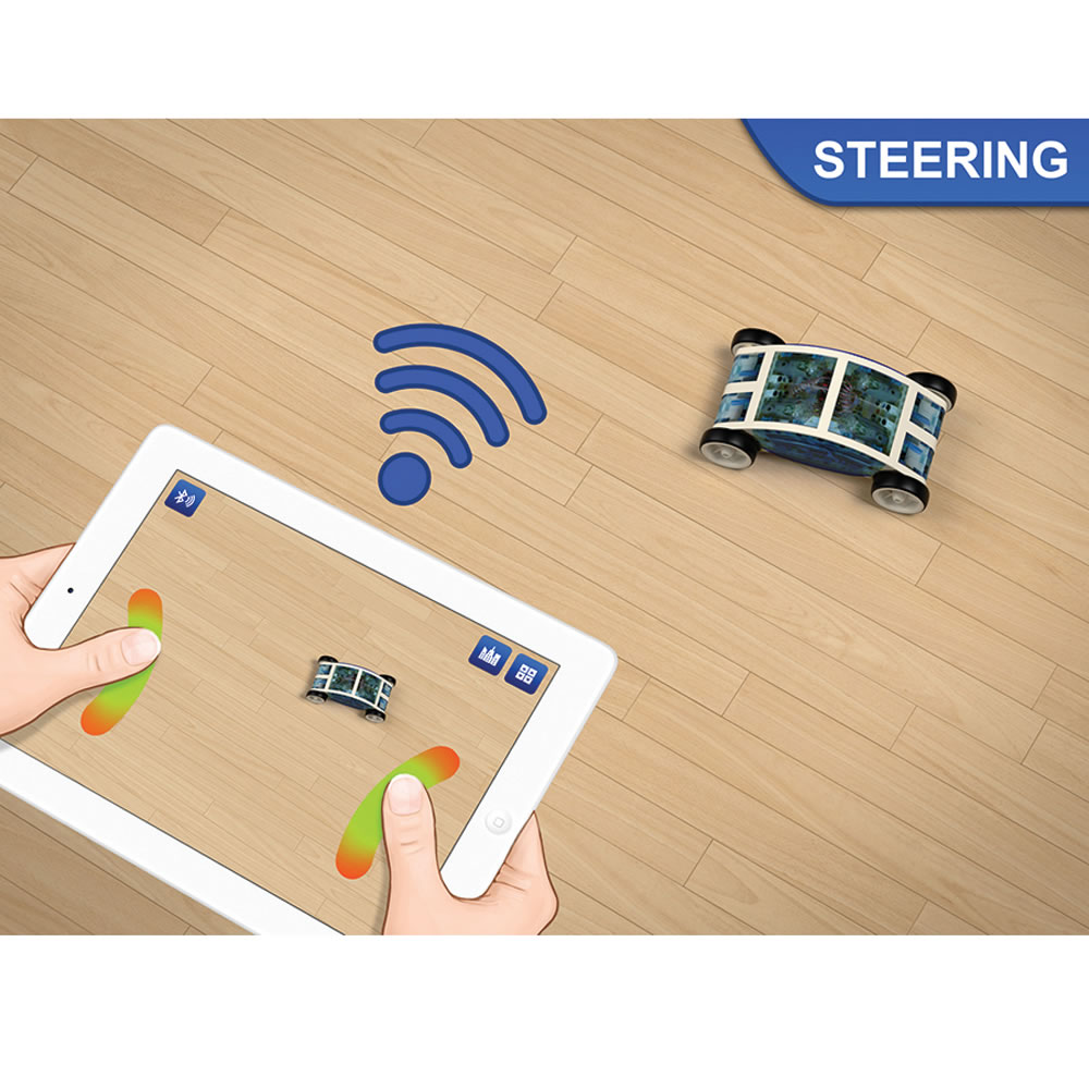 The iPad Controlled Car Kit5