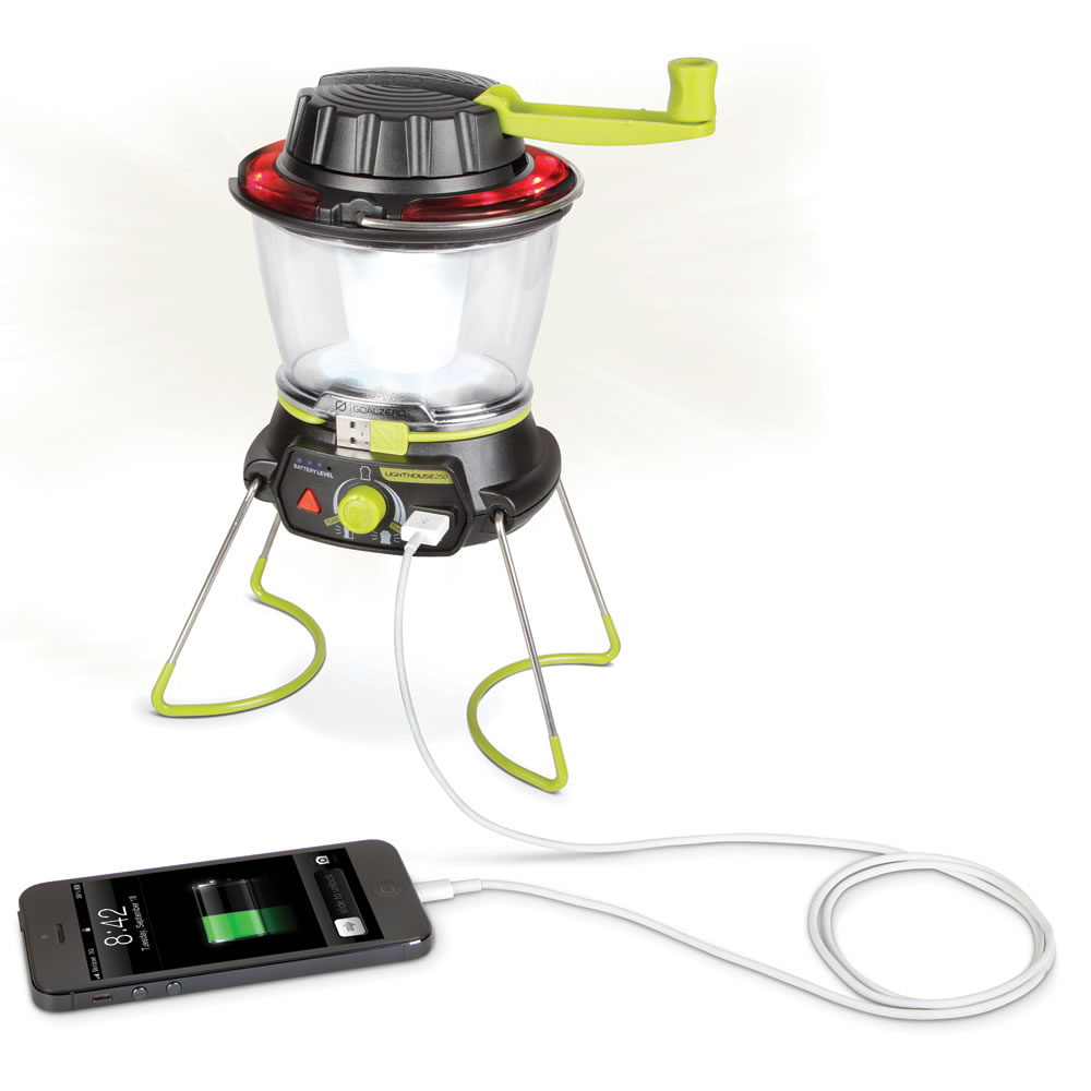 The Smartphone Charging Emergency Lantern 4