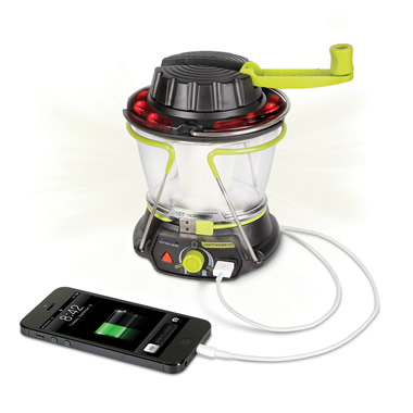 The Smartphone Charging Emergency Lantern.