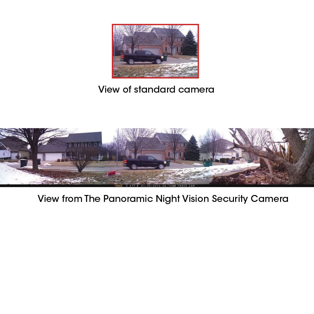 The Panoramic Night Vision Security Camera2