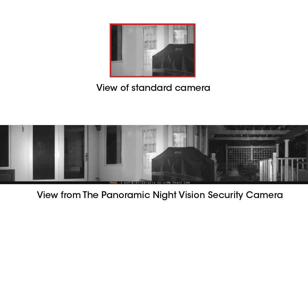 The Panoramic Night Vision Security Camera 3