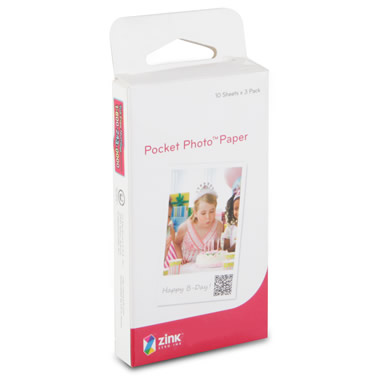 Portable Photo Printer Paper.