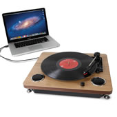 The LP To MP3 Turntable.