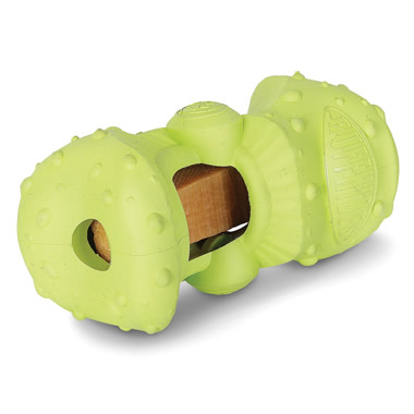 The Dog Treat Extending Chew Toy.