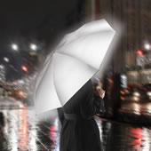 The Completely Reflective Safety Umbrella.