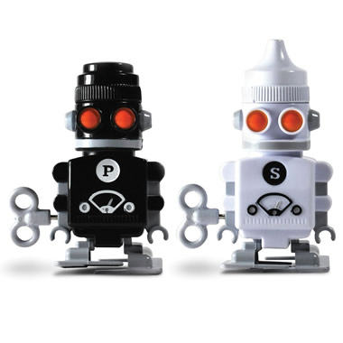 The Salt And Pepper Robots.