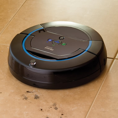 The Robotic Floor Washing Scooba 450.