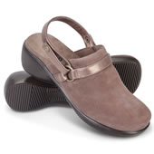 The Lady's Plantar Fasciitis Strap Clogs.