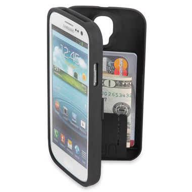 The Samsung Galaxy S3/S4 Polycarbonate Wallet.