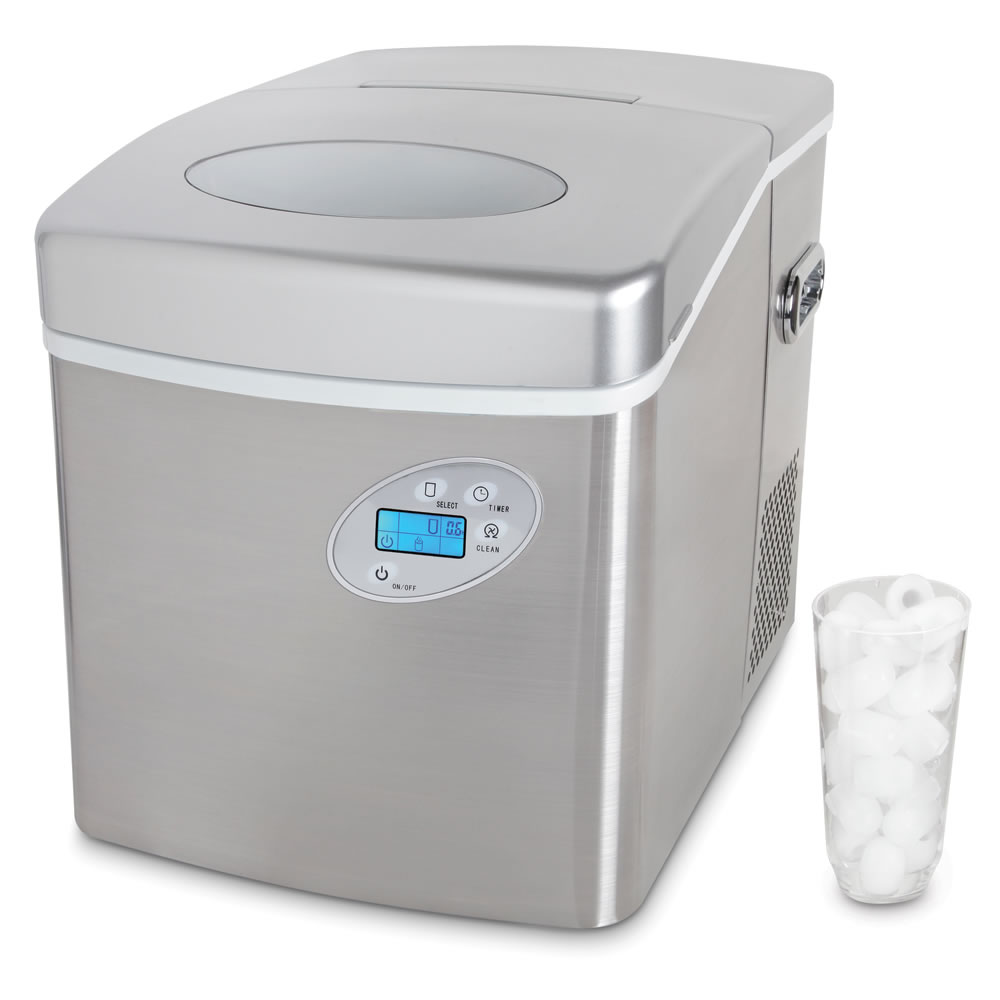 The Superior Tabletop Ice Maker Hammacher Schlemmer