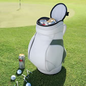 Golfers Shag Bag Cooler White