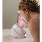 The Hot/Cold Facial Sauna.