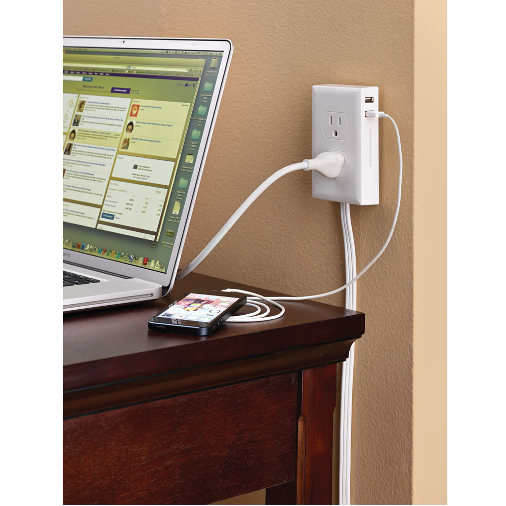 The Wall Mounted Outlet Extender 1