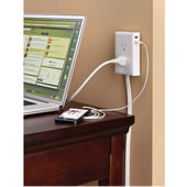 The Wall Mounted Outlet Extender.