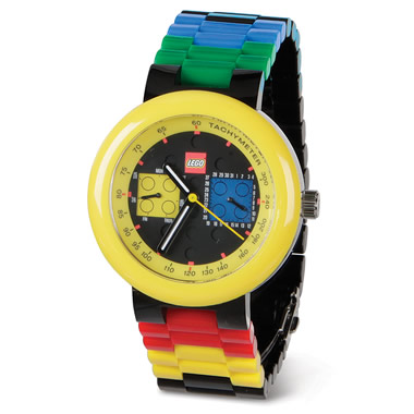 The Customizable LEGO Timepiece