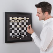 The Magnetic Chess Board.