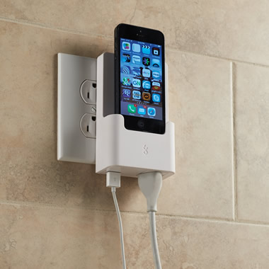 The iPhone 5 Outlet Charging Dock