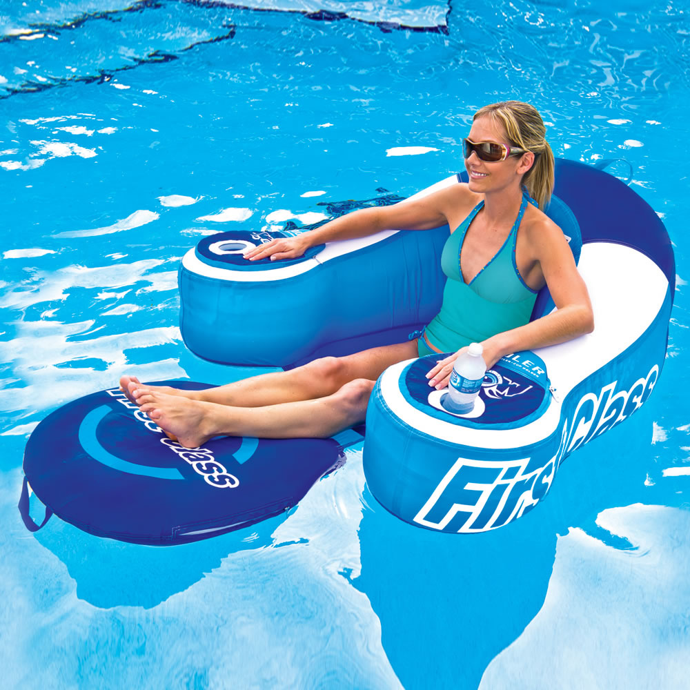 The Drink Cooling Pool Lounger 1