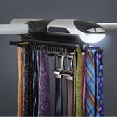 The Motorized Tie Rack.