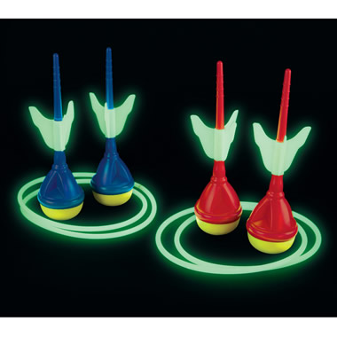 The Glow in the Dark Lawn Darts