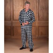 The European Flannel Pajamas.