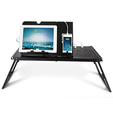The Only iPad Back Up Battery Lap Desk.