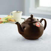 Authentic English Brown Betty Teapot