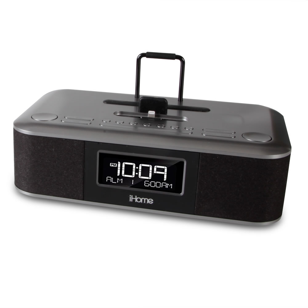 The iPad and iPhone Charging Clock Radio 2