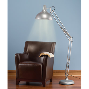 The Any Position Eyestrain Reducing Floor Lamp.