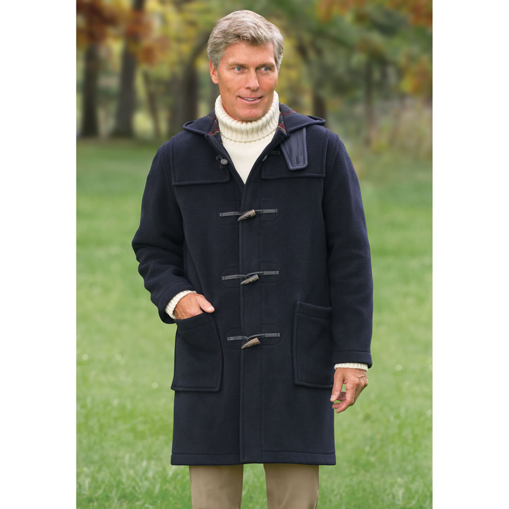The Royal Navy Duffle Coat - Hammacher Schlemmer