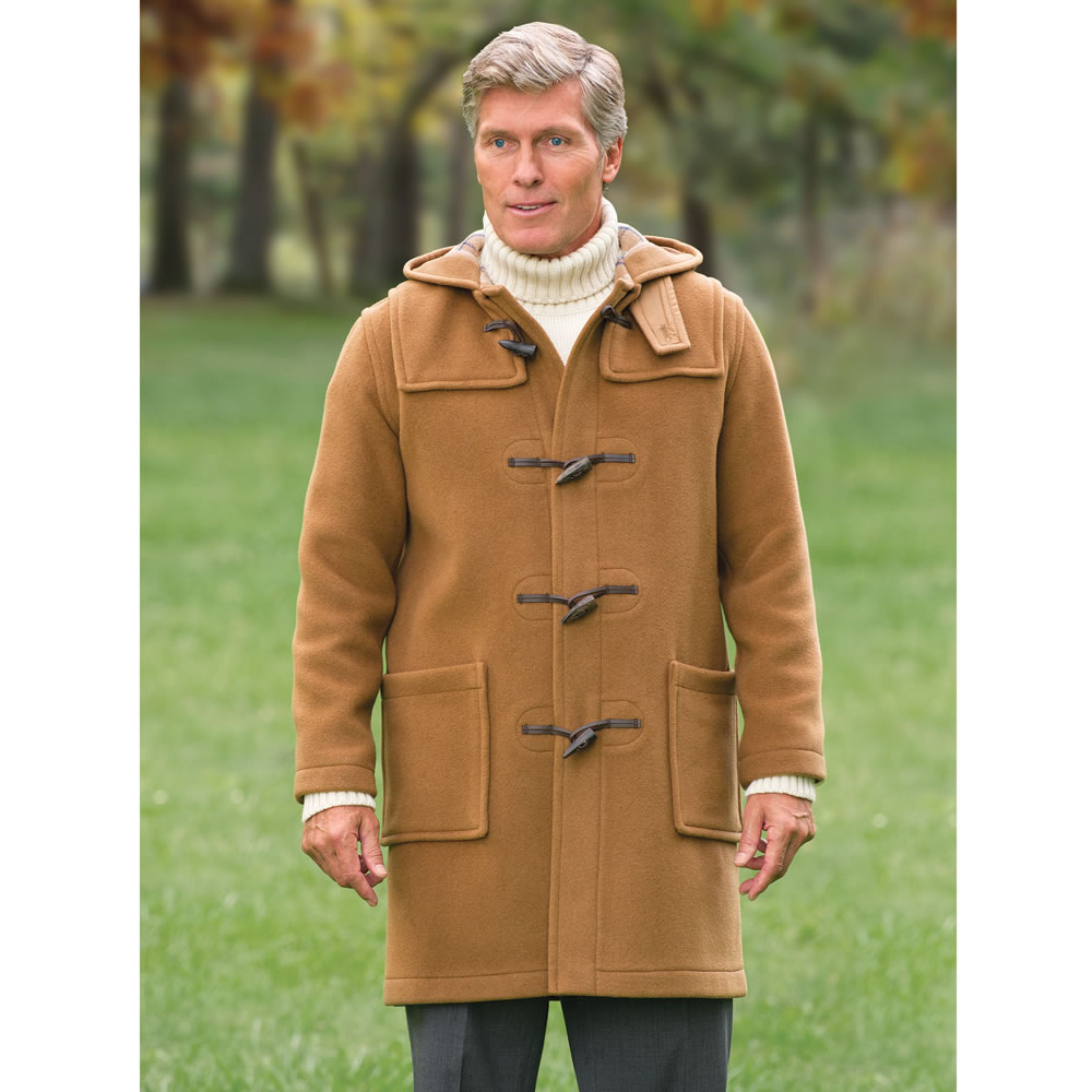 British Navy Duffle Coat - Coat Nj