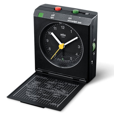 The Motion Deactivated Travel Alarm Clock