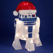 The Illuminated R2D2 Santa.