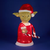 The Illuminated Yoda Santa.