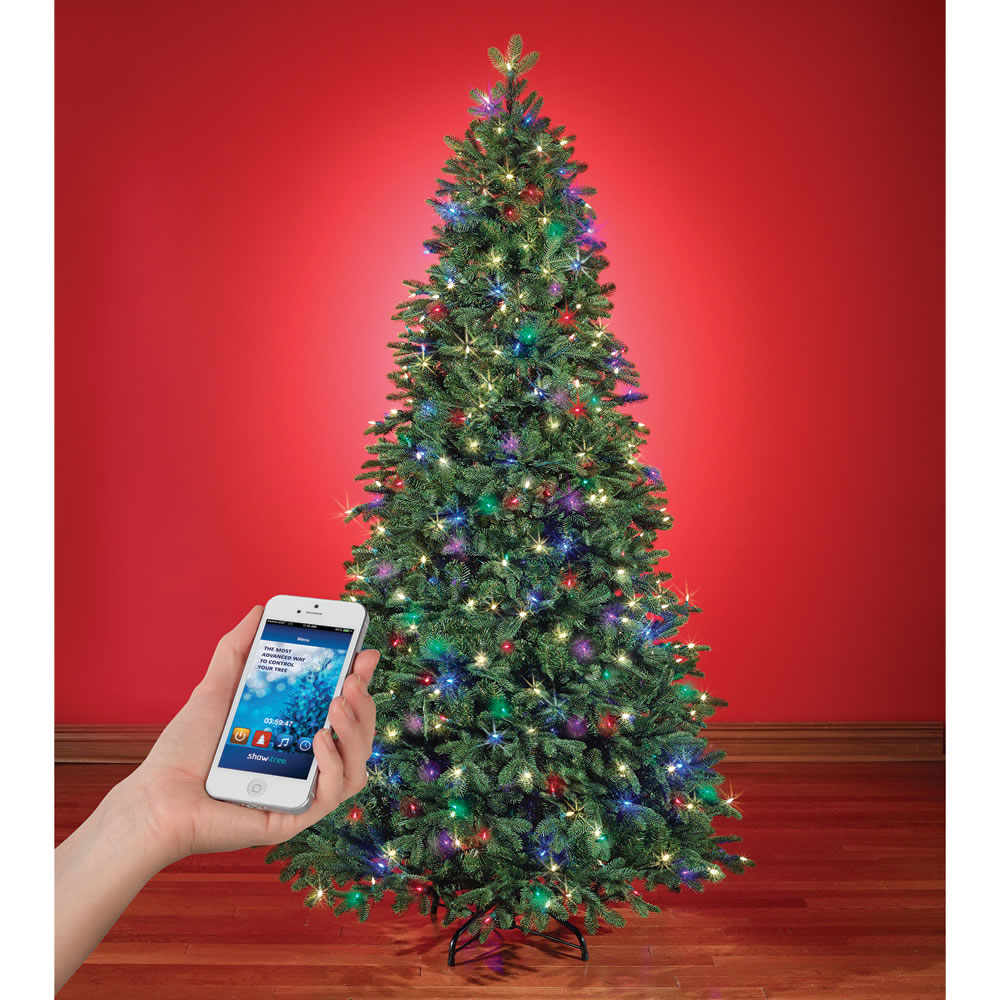 Attractive Hammacher Schlemmer Christmas Tree Reviews Part - 7: The Music And Light Show Wi Fi Christmas Tree