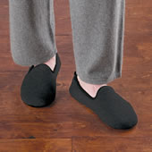 The Gentleman's Washable Cashmere Slippers.