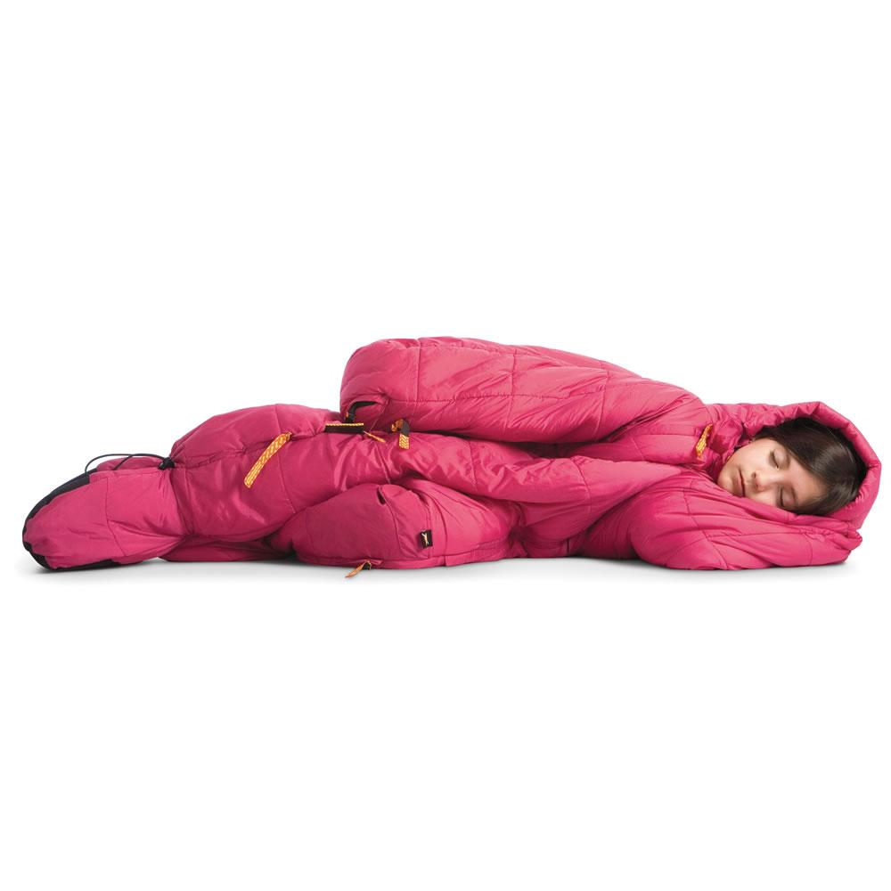 The Wearable Sleeping Bag Hammacher Schlemmer