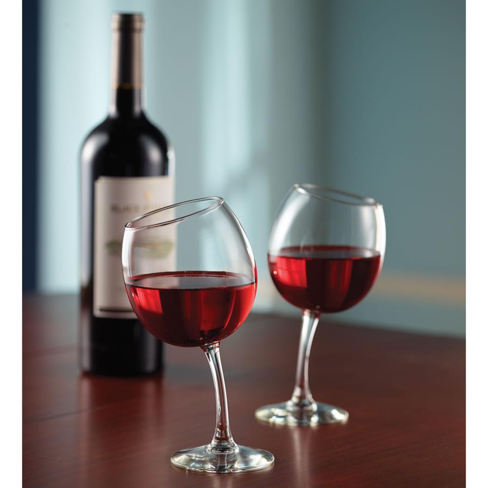 The Mirthful Sommelier's Wine Glasses - Hammacher Schlemmer: www.hammacher.com/Product/Default.aspx?sku=86245