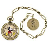 The Only Mickey Mouse Brass Pocket Watch.