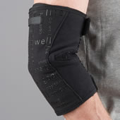 The Circulation Improving Knee Or Elbow Wrap.