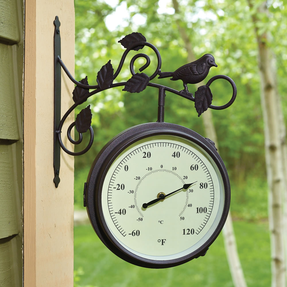 The Serenading Songbirds Outdoor Clock 2