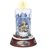 The Thomas Kinkade Crystal Candle.